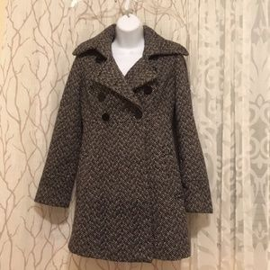 GUESS Los Angeles  Button Pea Coat size S